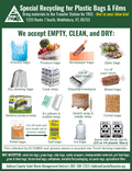 Plastic Bag Recycling Info Sheet