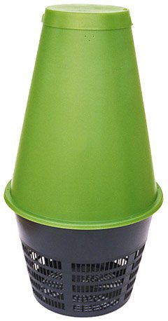 Tall Green Cone Solar Digester
